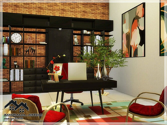 Konwalia Office By Marychabb