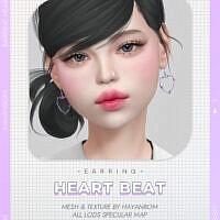 Heart Beat Earrings