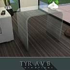 Modern Glass End Table By Tyravb