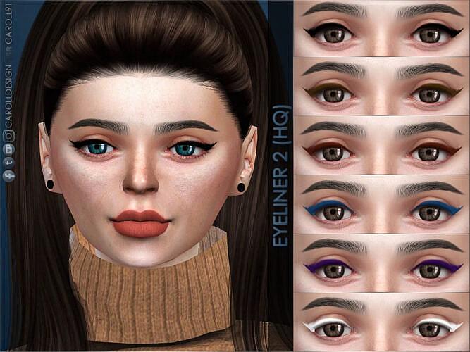 Eyeliner 2 Hq By Caroll91