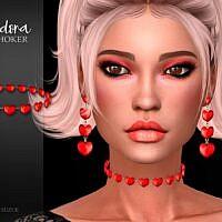 Adora Hearts Sims 4 Choker