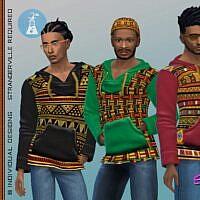 African Hemp Sims 4 Hoodie