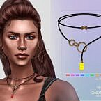 Aisha Sims 4 Necklace