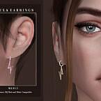Alexa Sims 4 Earrings