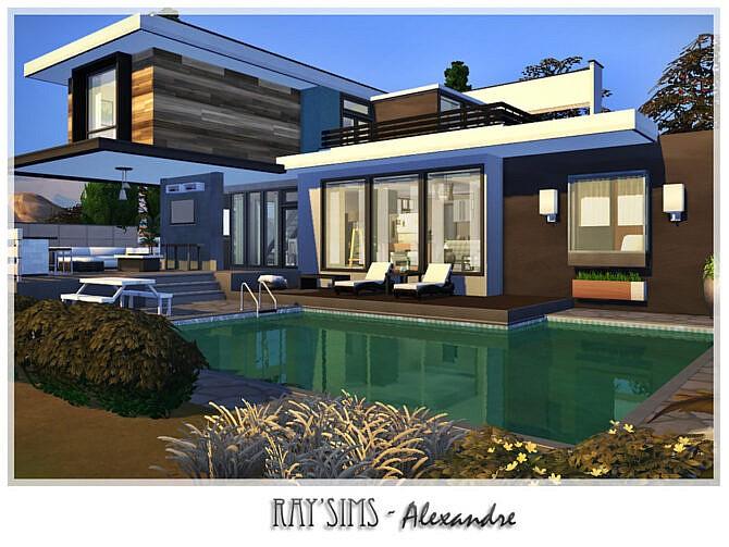 Sims 4 Alexandre villa by Ray Sims at TSR