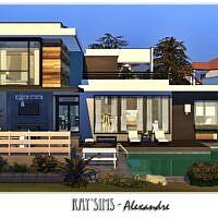 Alexandre Sims 4 Villa