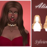 Alina Sims 4 Haistyle By Sylviemy