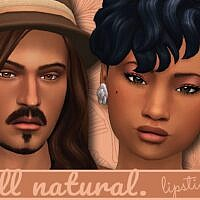 All Natural Sims 4 Lipstick