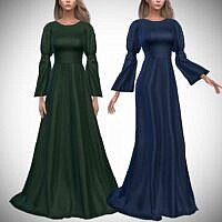 Althea Sims 4 Gown