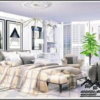 Amanda Sims 4 Bedroom