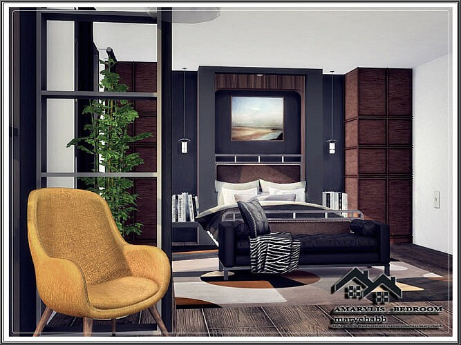Amarylis Sims 4 Bedroom