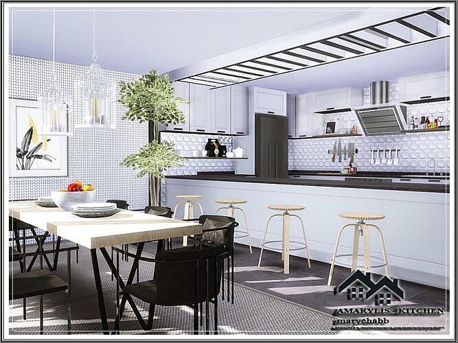 Amarylis Sims 4 Kitchen