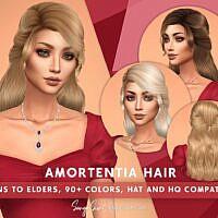 Amortentia Sims 4 Cc Hair