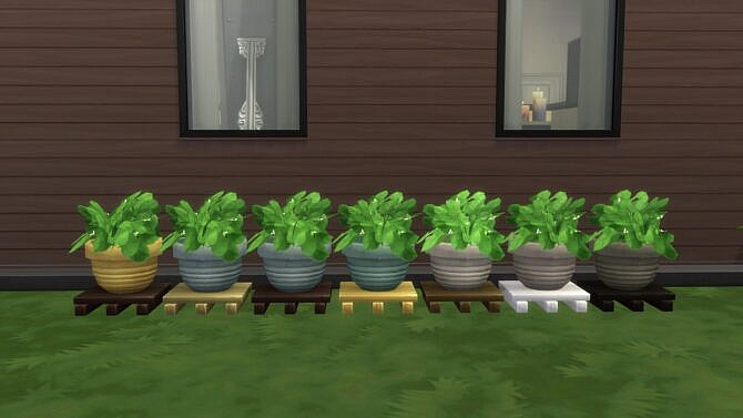 Sims 4 Amys Garden Plants Separated by Teknikah at Mod The Sims 4