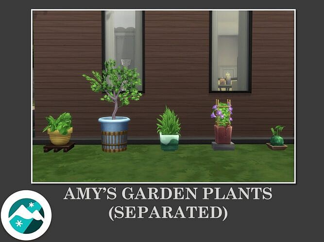 Amy Garden Sims 4 Plants Separated