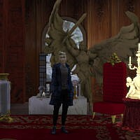 Angelic Paladin Sims 4 Coffee Table