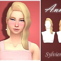 Anne Sims 4 Hairstyle