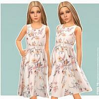 Antonia Sims 4 Dress By Lillka