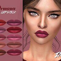 Armana Sims 4 Lipstick N319