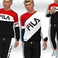 Athletic Tops Sims 4 Male