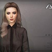 Awake Sims 4 Hairstyle Style 2