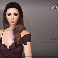 Awake Sims 4 Hairstyle Style 3