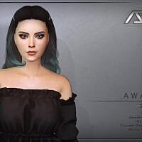 Awake Sims 4 Hairstyle Style 4