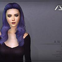 Awake Style 1 Hairstyle Sims 4