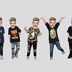 Bape Sims 4 Tees Toddler