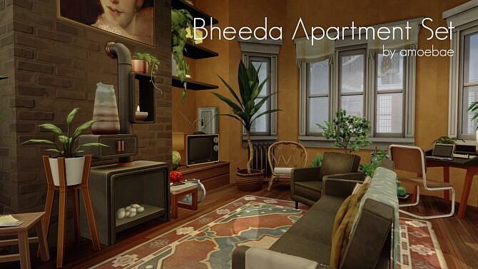 Bheeda Sims 4 Apartment Set