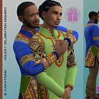 Bhm Dashiki Sims 4 Outfit