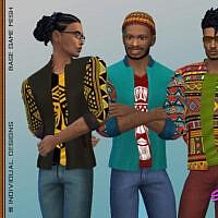 Bhm Sims 4 Windbreaker