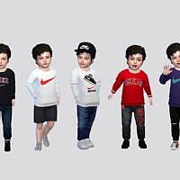 Basic Sims 4 Sweatshirt Toddler Boy