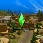 Batuu Loading Screens Sims 4