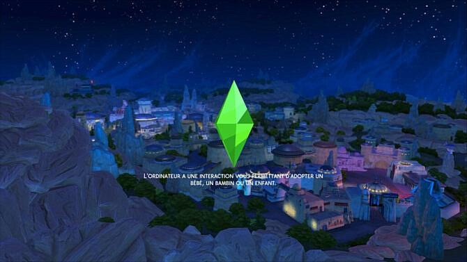 Sims 4 Batuu Loading Screens at Caradriel