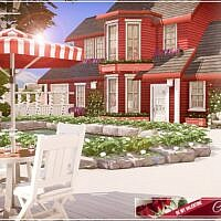 Be My Valentine Sims 4 Cottage