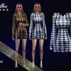 Belba Sims 4 Dress