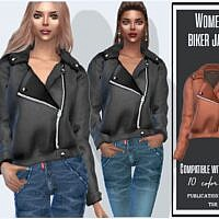 Biker Jacket Sims 4