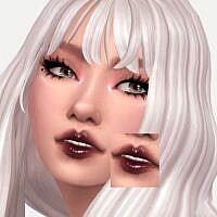 Black Currant Sims 4 Lipgloss