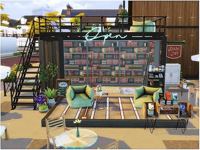 Book Truck Sims 4 Lot
