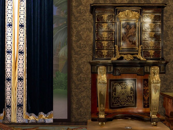 Boulle Sims 4 Cabinet