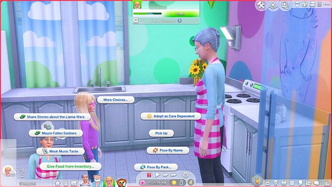 Sims 4 Bring food to Sims by Sofmc9 at Mod The Sims 4