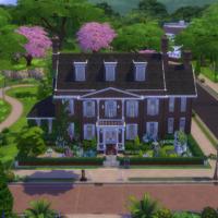 British Family Sims 4 Manor