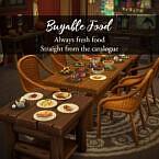 Buyable Sims 4 Food Mod