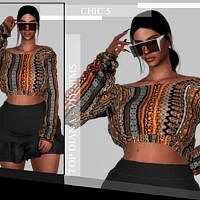 Chic V Sims 4 Top Diana