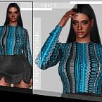 Chic V Sims 4 Top Maiya