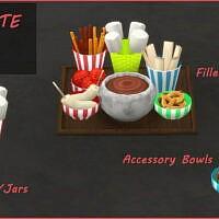 Chocolate Tray Sims 4