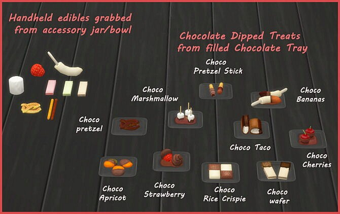 Sims 4 CHOCOLATE TRAY at Icemunmun