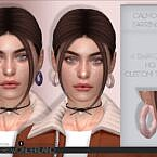 Calmone Sims 4 Earrings