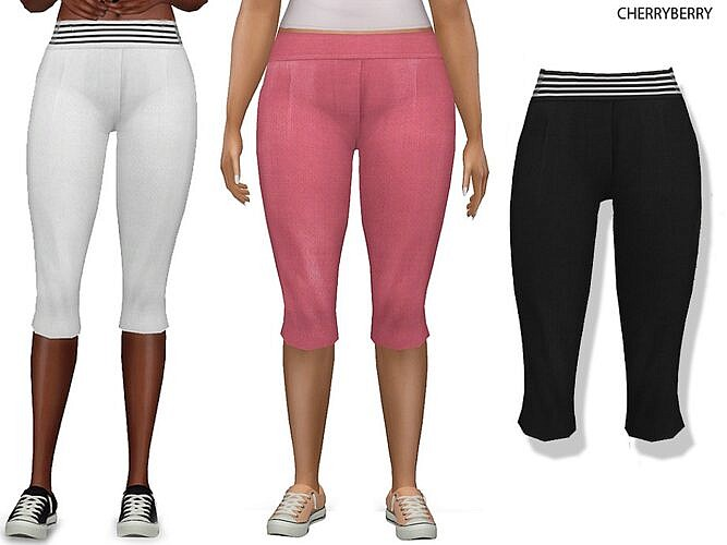 Capri Sims 4 Pants